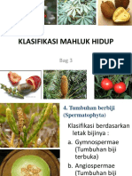 Klasifikasi Mahluk Hidup 3