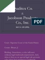 Qualitex v. Jacobson