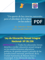 Ciencias naturales y educación sexual