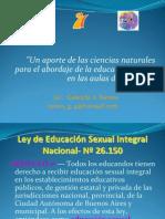 Ciencias naturales y educación sexual