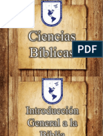 Intro General a La Biblia 2017