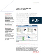 Oracle Fusion Procurement Analytics