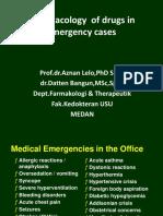 201404 Kbk Pharmacology in Emergency