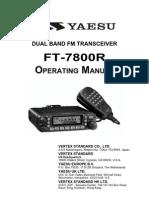 Yaesu FT-7800R Operation Manual