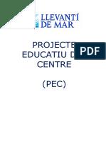 Escola Llevantí de Mar - PEC