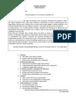 Examen Portugues b1