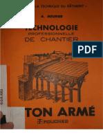 Technologie Professionnelle de Chantier