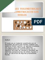 RELACIONES  VOLUMETRICAS Y  GRANULOMETRICAS DE LOS    SUELOS (1).pptx