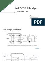 Full Bridge Phase Shift Converter