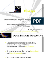 Models of Strategic Change and Strategic Management Tools (2)