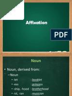 Affixation Verb, Adj, And Adv