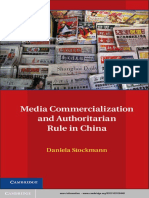 Stockmann - Media Commercialization and Authoritarian Rule in China (2013)