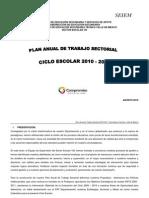 Plan Anual de Trabajo Del Sector_VIII
