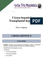 13. Ciroza Si Transplant Hepatic
