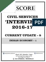 8. Indian Economy-I