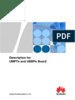 Description for UMPTe and UBBPe Board
