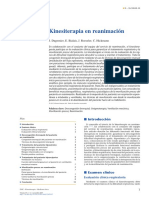 Kinesiterapia en Reanimación