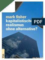 Www.vsa Verlag.de Fisher Kapitalistischer Realismus Ohne Alternative