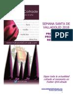 Programa Procesiones ValladolidCofrade 2018