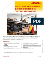Dhl Einzelabholauftrag Infoblatt 201612