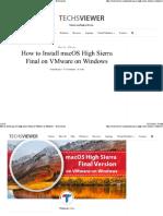 Install macOS High Sierra Final on VMware.pdf
