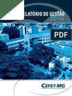 TCU - Relatório de Gestão 2016 CEFET-MG