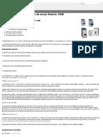 Guardamotores- Disyuntores Para Protección de Motor Boletín 140M