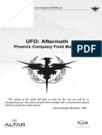 UFO Aftermath Manual