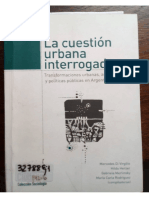 La Cuestion Urbana Interrogada