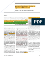 Acute Compartmetn Syndrome, Update on Diagnosis and Treatment