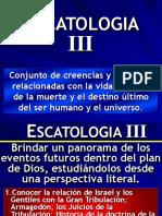 Curso Escatología III