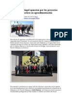 España y Portugal apuestan por los proyectos transfronterizos en agroalimentación. FERIA de SALAMANCA 2010
