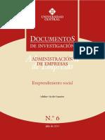2015 Emprendimiento Social(Universidad Central)