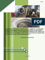 Informe Ejecuctivo Arroyos 1-2018