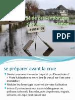 Politique de Prévention Des Risques d'Inondation