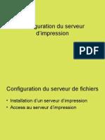 08BIS Configuration du serveur d'impression