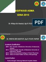 Klasifikasi Asma Gina 2015