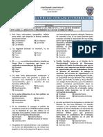 1ero Sec Evaluación Bimestral de Formación Ciudadana y Cívica Tercer Bimestre 2017