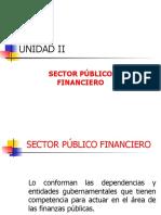Sector Publico Financiero Unidad II