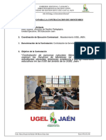 Tdr Monitores Ugel Jaen- Marzo Abril 2018