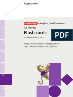 Movers Flash Cards NEW