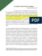 Panorama Del Derecho Constitucional en Colombia