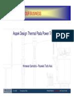Thermal Design Aspect Dari Trafo Tenaga