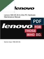 Lenovo s50-30 Manual