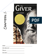 the giver  week 1 booklet