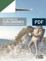 Cursos de Fotogrametria Con Drones OVRA 2018