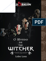 Old Dragon O Mundo de the Witcher