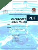 Captacion de Manatiales