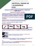 Notação Científica, Ordem de Grandeza e Algarismos Significativos _ Física e Vestibular