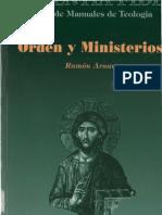 Arnau, Ramon - Orden y Ministerios